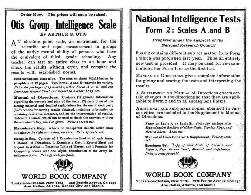 Group Intelligence Tests 111